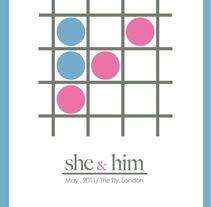 She & him. A Design project by Sara Peláez - 24-11-2011