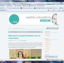 On-line. Un proyecto de Diseño de Blanca Sánchez-Escribano Vidrié         - 12.12.2011