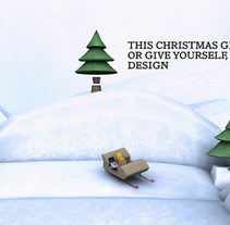 This Christmas give Design. A Design, Advertising, Motion Graphics, Film, Video, TV, and 3D project by Mikel Canal         - 29.11.2011
