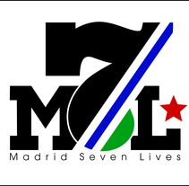 Madrid seven Lives Logo. A Design, Illustration, and Advertising project by Naone  - Dec 06 2011 11:25 PM