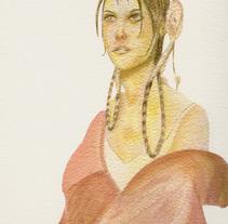 Girls. A Illustration project by Jorge Massa Saboya         - 09.12.2011