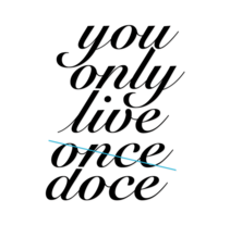 You only live a new year!. A Design&Illustration project by Albert Escrichs©         - 14.12.2011