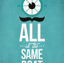 In the same boat. A Illustration project by mimology         - 23.12.2011