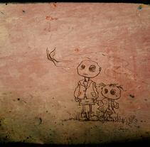 Alone. Un proyecto de Ilustración de Maria Jesus Garcia Muñoz         - 31.12.2011