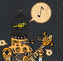 Camisetas. Un proyecto de Diseño e Ilustración de Andrés Lozano         - 02.01.2012