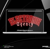 Logotipo: Electronik Agency. A Design project by KikeNS         - 05.01.2012