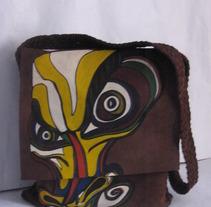 pintura sobre cuero. Un proyecto de Diseño de paula uribe         - 13.01.2012