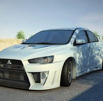 EVO. Un proyecto de Diseño, Ilustración, Publicidad, Motion Graphics y 3D de Karpeton Studios         - 15.01.2012