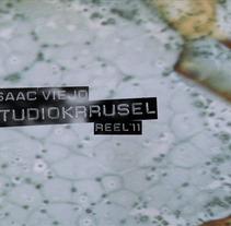 Reel'11. Un proyecto de Diseño, Motion Graphics, Ilustración, Cine, vídeo, televisión, Música, Audio y Publicidad de Isaac Viejo - Martes, 17 de enero de 2012 19:34:29 +0100