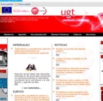 Ugt Euskadi Plan Avanza. Un proyecto de Diseño, Ilustración y Desarrollo de software de Jose Lorenzo Espeso         - 17.01.2012