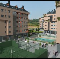 Edificios de Viviendas. Um projeto de 3D de Luis Alberto Martínez Dueñas         - 18.01.2012