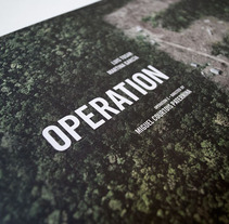 Operation E. A Design, Film, Video, and TV project by Barfutura         - 08.02.2012