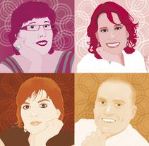 Retratos. Un proyecto de Ilustración y Fotografía de Jose Maria Gallego Guillen         - 08.02.2012