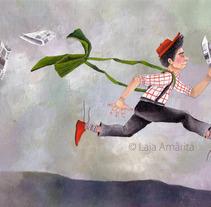 ILUSTRACIÓN. A Illustration project by Laia Amàrita         - 26.01.2015