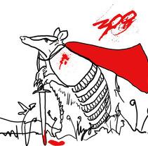 Armadillo. Ilustración para Lemonday . Un proyecto de Ilustración de Alba Rincón - 15-02-2012