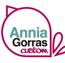 Logotipo Personal-Custom Caps. Un proyecto de Diseño de Annia Bandrés Tejada         - 29.02.2012