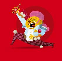 Personajes Cruzcampo Carnaval . Un proyecto de Diseño e Ilustración de Rebombo estudio         - 02.03.2012