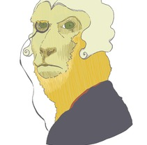 Ilustrísimo Mono. A  project by Silvia González Hrdez - Mar 09 2012 01:55 PM