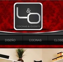 L & O  Cocinas y Closets. A Design, Illustration, Advertising, and Software Development project by As Diseño Diseño Web Monterrey         - 16.03.2012