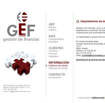 Gestion de Finanzas. Un proyecto de Diseño, Desarrollo de software, UI / UX e Informática de Jaime Martínez Martín         - 16.03.2012