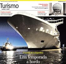 Diario La Nación, Suplemento de Turismo. A Design project by fabu Cancellara         - 20.03.2012