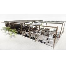 Chiringuito . Un proyecto de Diseño, Instalaciones y 3D de Andreu Cabot         - 23.03.2012