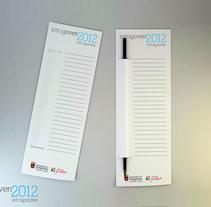 Marcapáginas LetraJoven2012. Um projeto de  de Larripastudio         - 24.03.2012