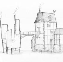Arquitecturas imaginadas. Un proyecto de Ilustración de Germán Valle         - 19.07.2014