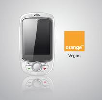 Orange Vegas. Un proyecto de Ilustración de Alvaro Portela Martínez - 12.04.2012