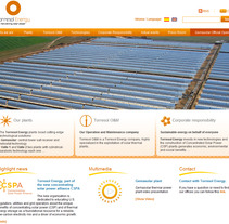 Web Torresol Energy. A Design, Installations, Software Development, and UI / UX project by seven  - Apr 18 2012 10:59 AM