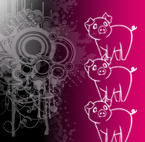 Las Tres Cerditas//cuento. Un proyecto de Publicidad de Sofia Espejo - 22-10-2013