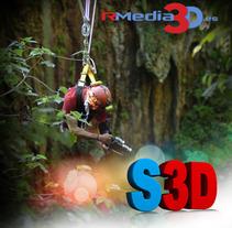 Cine y TV en 3D estereoscópico. Un proyecto de Diseño, Ilustración, Publicidad, Desarrollo de software, Fotografía, Cine, vídeo, televisión, 3D e Informática de Carlos Sánchez Vázquez         - 23.04.2012