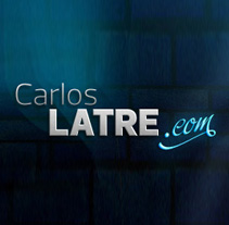 Carlos Latre Website. A Design, Advertising, and Software Development project by Benet Carrasco Llinares         - 20.09.2013