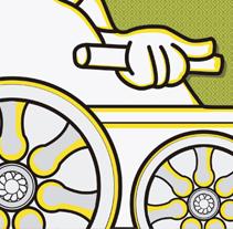 Carnaval Madrid 2012. Un proyecto de Diseño e Ilustración de M.A. Serralvo - Viernes, 27 de abril de 2012 17:37:58 +0200