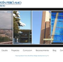Agustin Peiro Web (Wordpress). A Design, Motion Graphics, Software Development&IT project by Gloria Peiró Pérez         - 30.04.2012