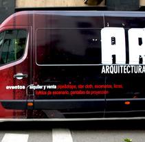 Furgoneta Ar-t. Un proyecto de Diseño de Noe Rivas  - 08-05-2012