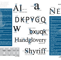 Anatomía tipográfica. A Design&Illustration project by David A. Rittel Tobía (Sechzehn)         - 14.05.2012