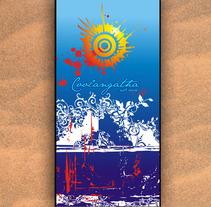 TOALLAS PLAYA. Um projeto de Design e Ilustração de MÓNICA DÍAZ CAZORLA         - 16.05.2012
