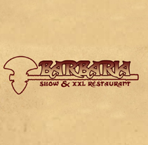 Barbaria Show & XXL Restaurant. A Design, Illustration, Advertising&IT project by Iván Peligros Blanco - 18-05-2012