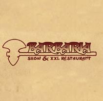 Barbaria Show & XXL Restaurant. Un proyecto de Diseño, Ilustración, Publicidad e Informática de Iván Peligros Blanco         - 18.05.2012