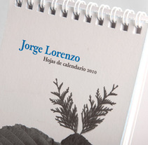 Hojas de Calendario. Un proyecto de  de Jorge Lorenzo         - 18.05.2012