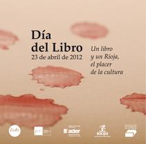Día del Libro 2012 - Logroño. Um projeto de Design de Guillermo Bayo - 19-05-2012