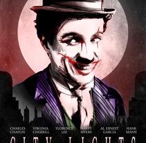 Chaplin_Joker. Un proyecto de  de Aitor Gonzalez Perkaz         - 23.05.2012