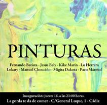 Publicidad email para exposición pinturas. A Design, and Advertising project by Paco Mármol - 05-06-2012