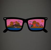 CRISTALES ROSAS. Un proyecto de Ilustración y Publicidad de Lore Vigil-Escalera aka (LOV-E) - Miércoles, 06 de junio de 2012 21:37:28 +0200