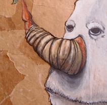 MONSTERS. Um projeto de Ilustração de Natxo  Ramirez Garcia         - 07.06.2012