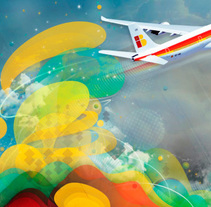 NO DEJES DE VOLAR // IBERIA. Un proyecto de Diseño y UI / UX de Nacho Gallego         - 13.06.2012