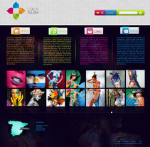 Web Color Flush. A Design project by Sara Bonillo         - 14.06.2012