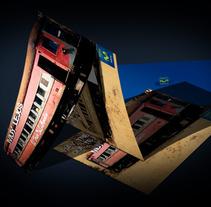 díptico Alejandro Sanz. Un proyecto de Diseño de Pedro Luis Montero Somolinos - 18-06-2012