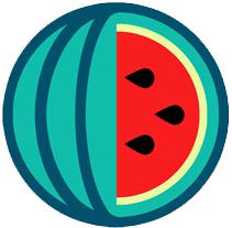 WATERMELON_logo. A Design&Illustration project by TONI BERNARDINO - 19-06-2012